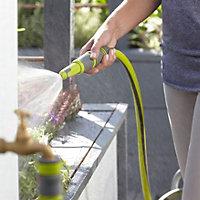 Verve Green & grey Adjustable Spray nozzle