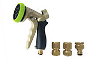 Verve Black, green & golden Spray gun set