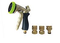 Verve Black, green & golden Spray gun set