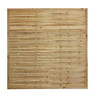 Khoper Fence panel (W)1.8m (H)1.8m