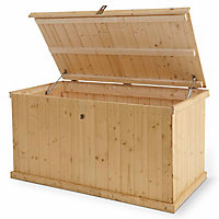 Blooma Bembo Tounge & groove Wooden Garden storage box
