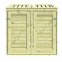 Blooma Bermejo Wooden Bin storage