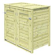 Bermejo Wooden Wheelie bin store