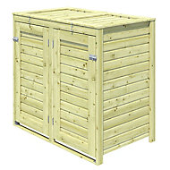 Blooma Bermejo Wooden Bin storage