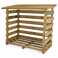 Beni Wooden Log store Small