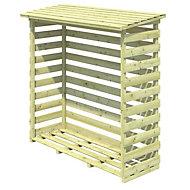 Beni Wooden Log store Medium