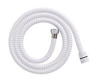 White PVC Shower hose 1.5m