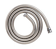Cooke & Lewis Chrome effect PVC Shower hose, (L)1.75m