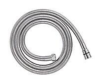 Cooke & Lewis Chrome effect Brass Shower hose, (L)2m