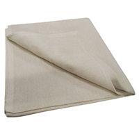 Diall Cotton Dust sheet (L)3.67m (W) 3.67 m