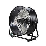 """Black 24"""" 330W Industrial Fan"""