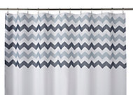 Cooke & Lewis Tigoda Multicolour Chevron Shower curtain (L)1800 mm