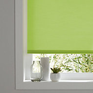 Colours Halo Corded Green Roller blind (L)180 cm (W)120 cm