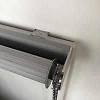 Kala Corded Grey Striped Day & night Roller Blind (W)180cm (L)180cm