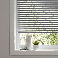 Grey Venetian blind (W)160 cm (L)180 cm