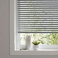 Grey Venetian blind (W)180 cm (L)180 cm