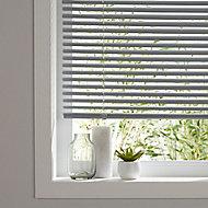 Grey PVC Venetian Blind (W)180cm (L)180cm