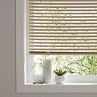 Cream PVC Venetian Blind (W)180cm (L)180cm