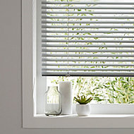 Studio Grey Aluminium Venetian Blind (W)180cm (L)180cm