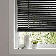 Studio Black Aluminium Venetian Blind (W)55cm (L)180cm