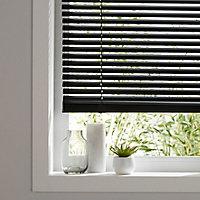 Studio Black Aluminium Venetian Blind (W)75cm (L)180cm