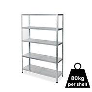 Form Axial 5 shelf Steel Shelving unit
