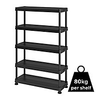 Form Links 5 shelf Polypropylene Shelving unit (H)1820mm (W)1200mm