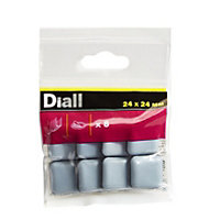 Diall Black & grey PTFE Glide, Pack of 8