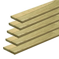 Don Green Softwood Deck board (L)2.4m (W)95mm (T)20mm of 5