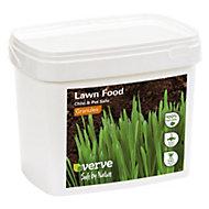 Verve Organic lawn fertiliser with iron sulphate 200m² 1410L