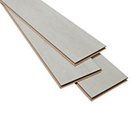 GoodHome Geelong Grey Oak effect Laminate flooring, 2.47m² Pack