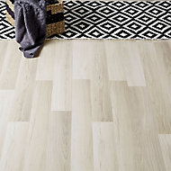 GoodHome Townsville Grey Oak effect Laminate flooring, 2.47m² Pack