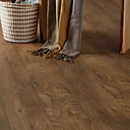 Bunbury Natural Oak effect Laminate flooring, 2.47m²