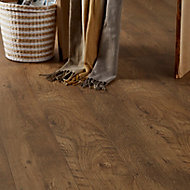 GoodHome Bunbury Natural Oak effect Laminate flooring, 2.47m² Pack