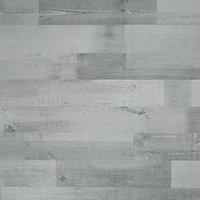 GoodHome Rockhampton Grey Oak effect Laminate flooring, 2.47m² Pack