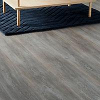 GoodHome Bundaberg Grey Oak effect Laminate flooring, 2.47m²