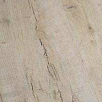 GoodHome Brisbane Grey Oak effect Laminate flooring, 2m²