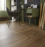Devonport Natural Oak effect Laminate flooring, 2m²