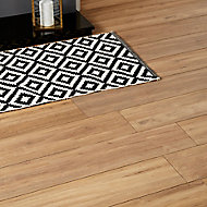 GoodHome Devonport Natural Oak effect Laminate flooring, 2m² Pack