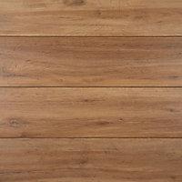 Devonport Natural Oak effect Laminate flooring, 2m²