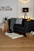 GoodHome Gladstone Oak effect Laminate flooring, 2m²