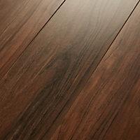 GoodHome Bannerton Mahogany effect Laminate flooring, 2.06m² Pack