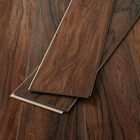 GoodHome Bannerton Natural Mahogany effect Laminate flooring, 2.06m²