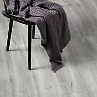 GoodHome Aberfeldy Grey Oak effect Laminate flooring, 2m²