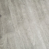 GoodHome Aberfeldy Grey Oak effect Laminate flooring, 2m² Pack