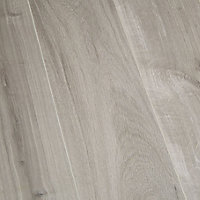 GoodHome Bailieston Grey Oak effect Laminate flooring, 2m²
