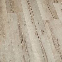 GoodHome Ballapur Grey Oak effect Laminate flooring, 2m² Pack