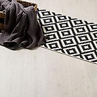 GoodHome Barkly White Oak effect Laminate flooring, 2m²