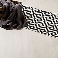 GoodHome Barkly White Oak effect Laminate flooring, 2m² Pack