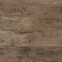 GoodHome Bannerton Dark Mahogany effect Laminate flooring, 2.06m² Pack